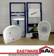 Wc Vorwandelement Komplettset - geberit wc waschtisch komplettset vorwandelement