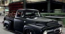 the expendables truck ford f100 in flat black with
