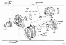 2736028280 scion coil assy alternator toyota parts overstock