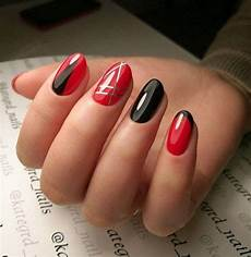 cute red nails art for your valentines day 17 in 2019