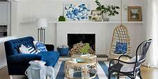 Home Decor Ideas For Living Room Blue by 25 Best Blue Rooms Decorating Ideas For Blue Walls And