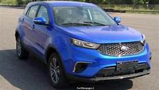 2019 ford territory suv images leaked new mahindra