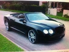 This Is A Chrysler Sebring That Was Made To Look Like