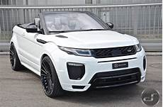 range rover evoque tuning hamann range rover evoque cabrio by ds automobile is a