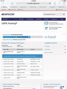 what does delivery status not updated mean with usps tracking jay versluis