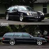 Image Result For Mercedes W210 Stance  Merc