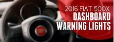 2016 fiat 500x dashboard warning lights