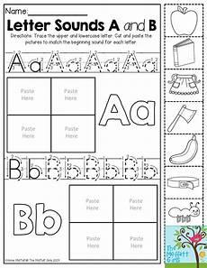 printable worksheets beginning letter sounds 23739 back to school packets teaching kindergarten alphabet preschool lettering