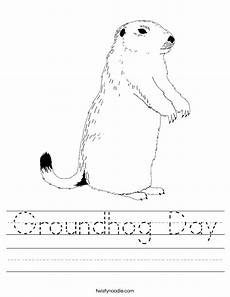groundhog day worksheet twisty noodle