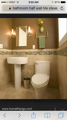 Bathroom Ideas Half Tile by Bathroom Half Wall Tile Ideas Next House