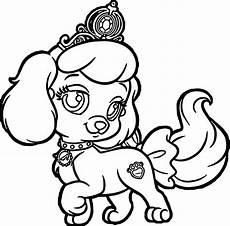 Ausmalbilder Prinzessin Hund Sad Puppy Coloring Pages At Getcolorings Free