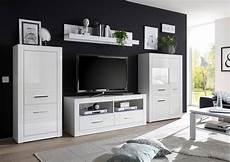 Wohnwand Hersteller Deutschland - anbauwand mediawand wohnwand bianco 315cm wei 223 wei 223