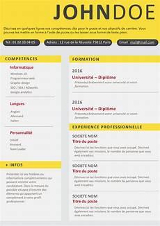 Exemple De Cv Sans Photo Gratuit 224 T 233 L 233 Charger