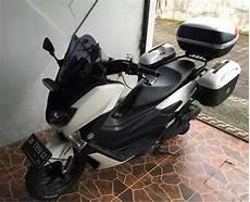 Modifikasi Nmax Touring by Ketika Yamaha Nmax 155 Velgnya Di Balut Ban Bridgestone