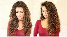 long curly hair routine itsrimi youtube