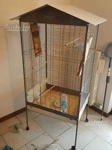 gabbie per petauri gabbia voliera dorata per uccelli con piedistallo posot