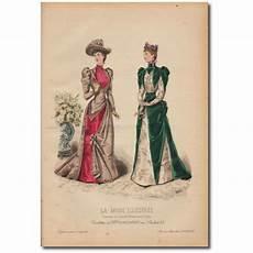 gravure de la mode illustr 233 e 1891 50 frenchcreavintage