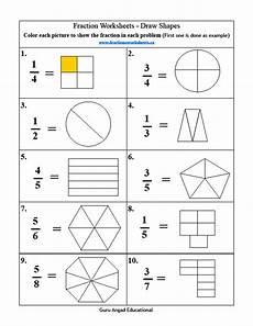 fraction review worksheets 4078 2nd grade math basic fractions review 1 steemkr