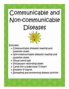 diseases communicable and non communicable non communicable disease middle school health