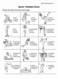 sports worksheets kindergarten 15816 sport worksheets for choice b w worksheet sports index printable worksheet pdf version