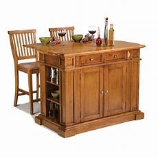 home styles americana kitchen island home styles americana distressed cottage oak kitchen island with seating 5004 948 the home depot