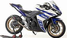 Modifikasi R25 2018 by Modifikasi Motor Yamaha Yzf R25 Simple Sangar Modifikasi