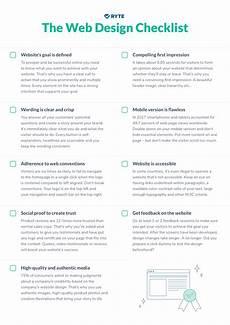 Design Checklist by The Web Design Checklist Ryte Medium