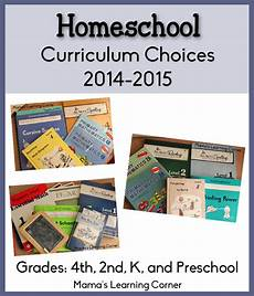 homeschool curriculum plans for 2014 2015 4th 2nd k