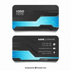 business card template blue grey and blue business card template vector free