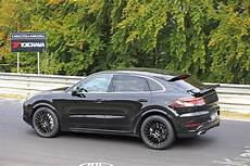 2020 porsche cayenne coupe hits nurburgring prototype