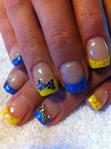 nail art with bow glamour nails nails makeup nails