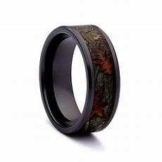 camo wedding rings black titanium wedding bands by 1 camo