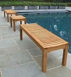 teak benches for garden patio country casual teak