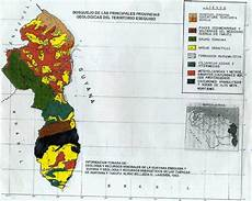 simbolos naturales de la region guayana geolog 237 a venezolana mapas