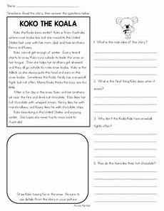 winter comprehension passages text based evidence 2nd grade reading comp