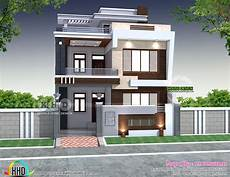 modern house plans in india 28 x 60 modern indian house plan kerala home design