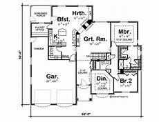 traditional house plans one story 1 story traditional house plan kennedy