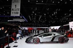 Lamborghini Veneno Roadster In The Works