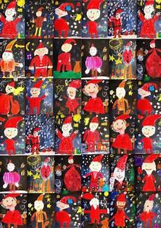 Weihnachten Basteln Grundschule - weihnachten klasse 1 3 anke kremer kunst mit der