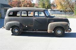 1950 Chevy Suburban Carryall Canopy Express Truck 47 54