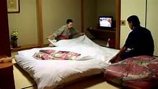 futon giapponesi futon setup by the pros at japanese hotel onsen ryokan