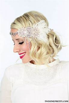 2 gorgeous gatsby hairstyles for halloween or a wedding twist me pretty