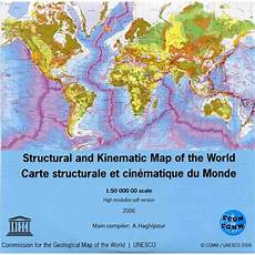 structural and kinematic map of the world pdf version