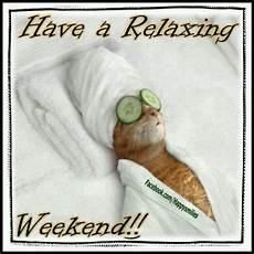 A Relaxing Weekend Bds Content Ideas