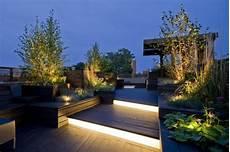 Holzk 252 Bel Dachterrasse Sichtschutz Beleuchtung Led Solar