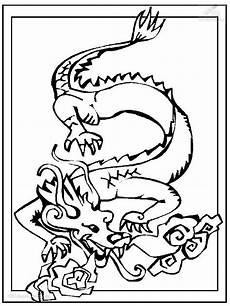 Malvorlage Chinesischer Drache Drachen Und Andere Fabelwesen Bilder Tattoos Geschichten