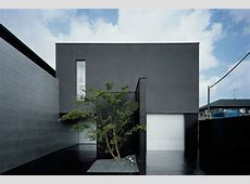 House Design With Completely Black Exterior   DigsDigs