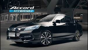 New Honda Accord Hybrid 2016 – Let The World Follow Full