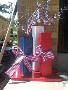Decorating Ideas For July Fourth by Outdoor 4th Of July Decor White And Blue Crafts