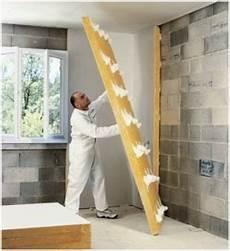 isolation thermique des murs intérieurs isolation des murs par l interieur doublage coll 233